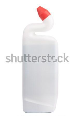 Plastic bottle with cleaning liquid Stock photo © vankad
