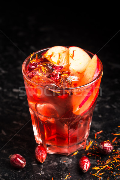 Delicious cocktail on marble table Stock photo © vankad