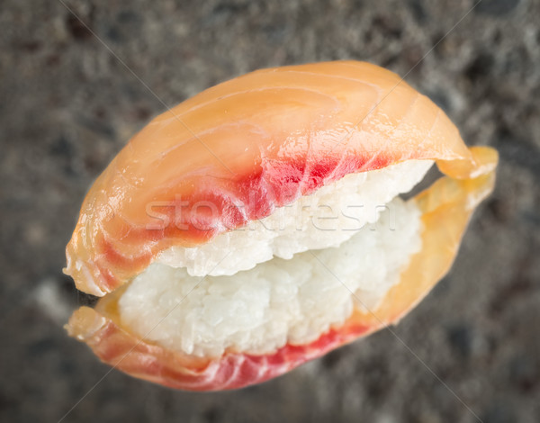 Sushi marinato mare bassi concrete texture Foto d'archivio © vankad