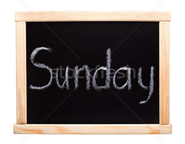 Days of the week: sunday Stock photo © vankad