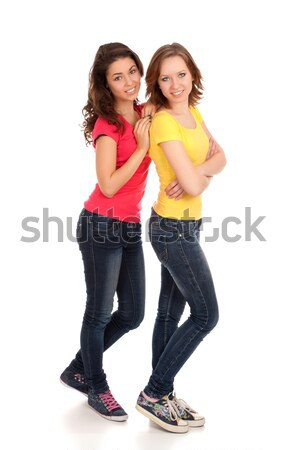 Stock photo: Two friends