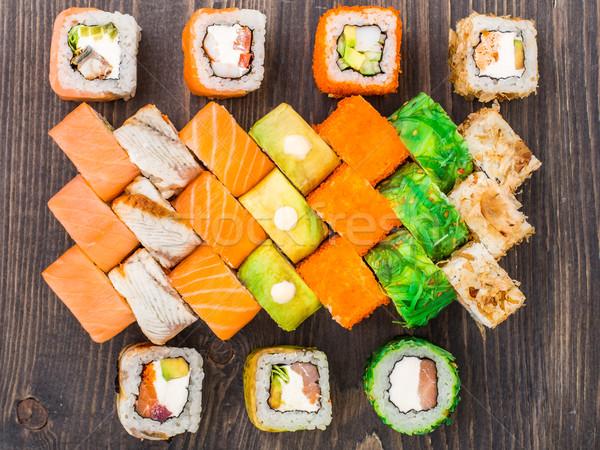 Sushi set Stock photo © vankad