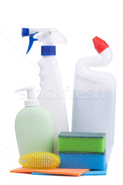 Kimyasallar beyaz sağlık temizlik bakım Stok fotoğraf © vankad