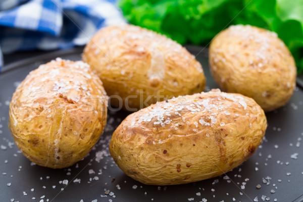 Jacket potato Stock photo © vankad