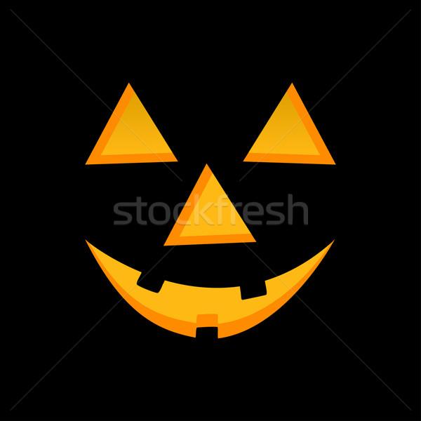Halloween pumpkin face Stock photo © vankad