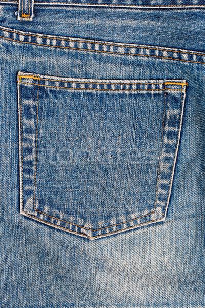 Jeans pocket Stock photo © vankad