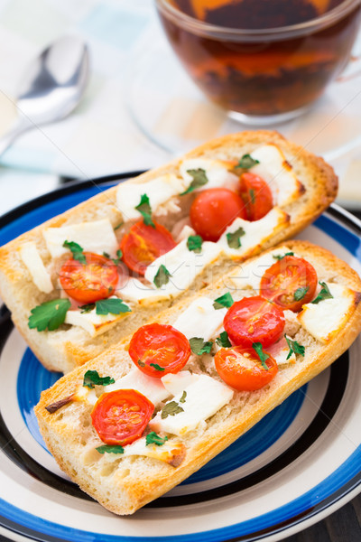 Baguette sandwich Stock photo © vankad
