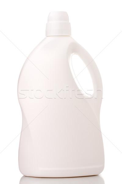 çamaşırhane deterjan şişe yalıtılmış beyaz kimyasal Stok fotoğraf © vankad
