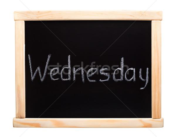 Days of the week: wednesday Stock photo © vankad