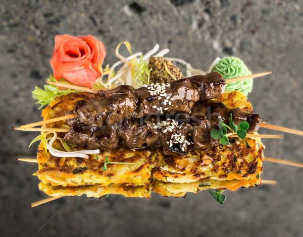 говядины текстуры фон рок обеда Сток-фото © vankad