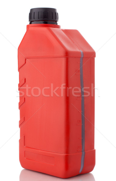 Red canister with machine oil Stock photo © vankad