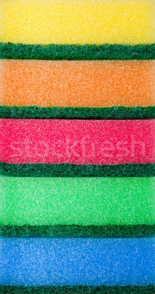 Colorful sponges Stock photo © vankad
