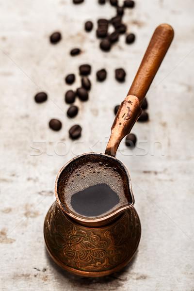 Coffee in turk Stock photo © vankad