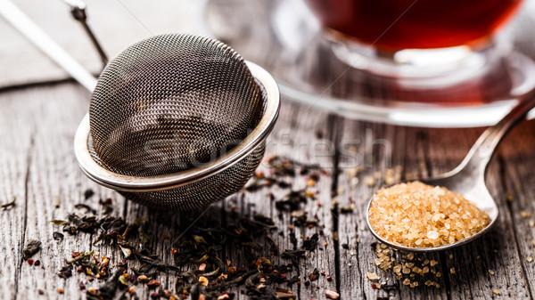 Tea strainer Stock photo © vankad