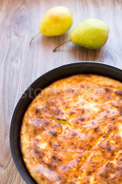 自家製 チーズケーキ 食べる 新鮮な 甘い ストックフォト © vankad