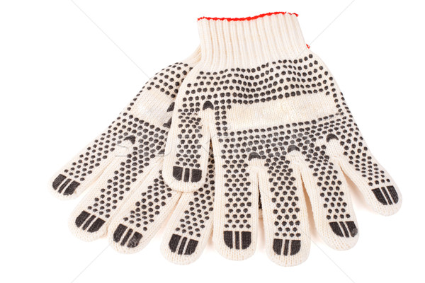 Pair of working gloves Stock photo © vankad