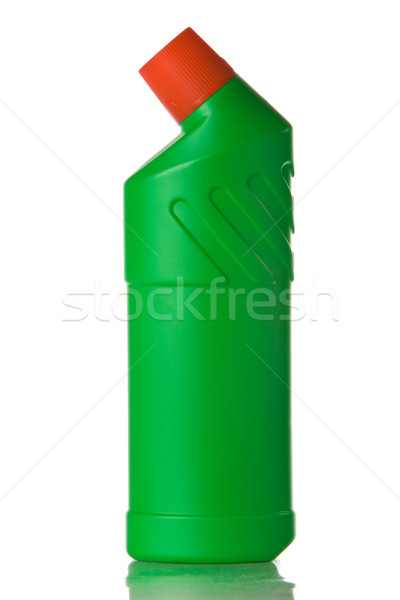 Washing liquid in green bottle Stock photo © vankad