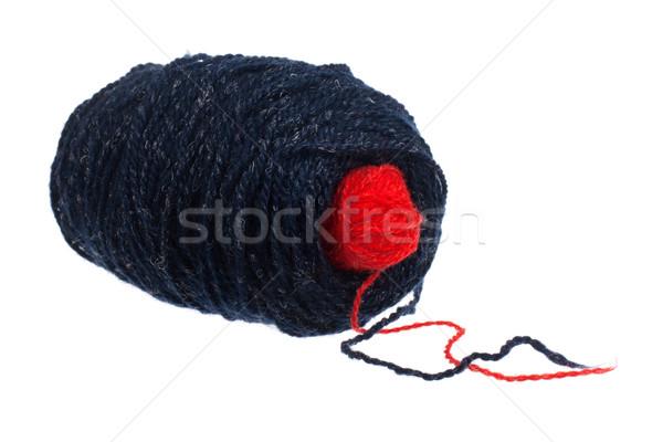 two balls of yarn Stock photo © vankad