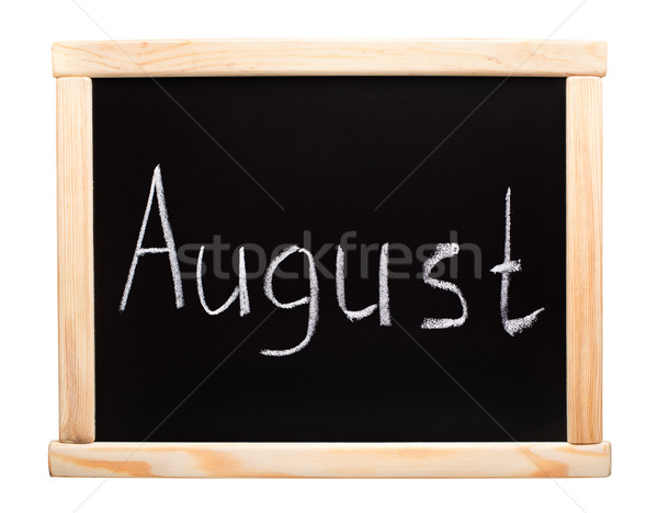 Month August Stock photo © vankad