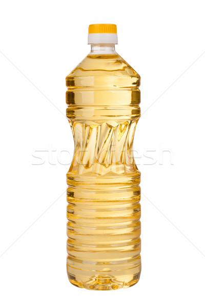 Óleo óleo de girassol branco cozinhar cozinhar líquido Foto stock © vankad