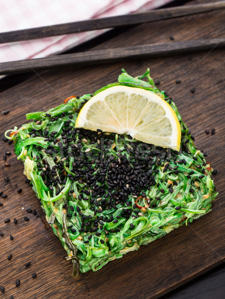 Chuka salad Stock photo © vankad