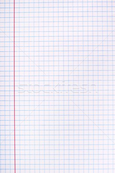 White squared paper sheet Stock photo © vankad