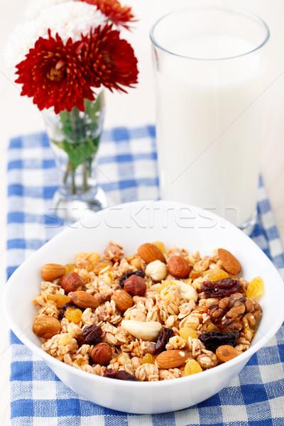 健康 ミューズリー 朝食 レーズン 果物 ストックフォト © vankad
