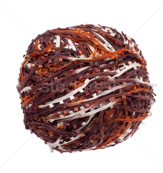 Ball of unusual yarn Stock photo © vankad