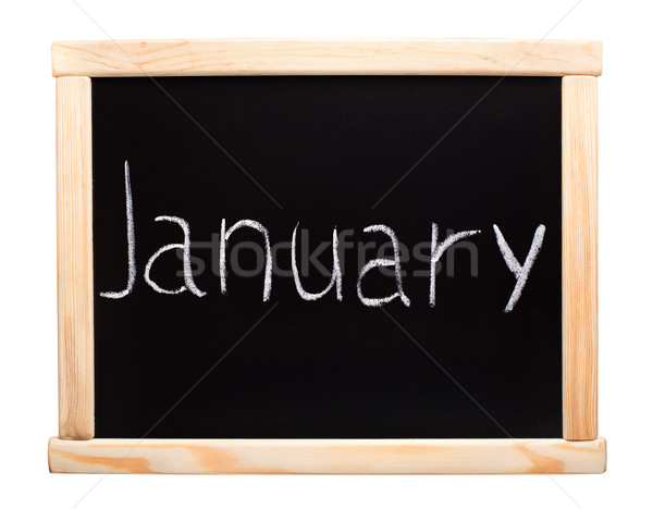 Stock photo: Month January