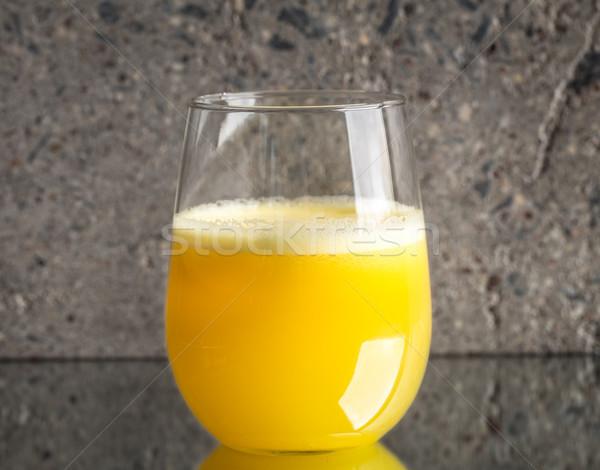 стекла свежие апельсиновый сок конкретные серый фрукты Сток-фото © vankad