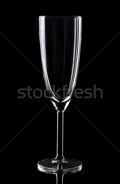 Vetro nero studio alcol riflessione Foto d'archivio © vankad