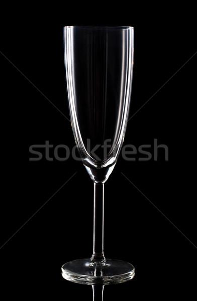 Champaign glass Stock photo © vankad