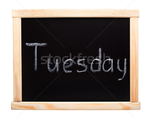 Days of the week: tuesday Stock photo © vankad