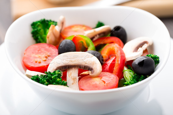 Vegetable salad Stock photo © vankad