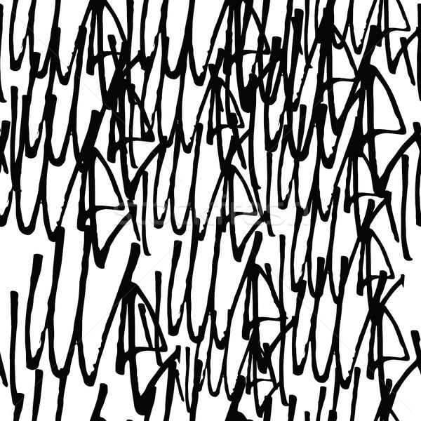 Graffiti background seamless pattern Stock photo © Vanzyst