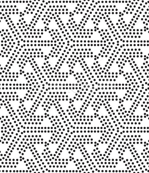 Delinme vektör evrensel farklı geometrik Stok fotoğraf © Vanzyst