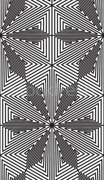 Abstract seamless pattern. Modern stylish texture geometric back Stock photo © Vanzyst