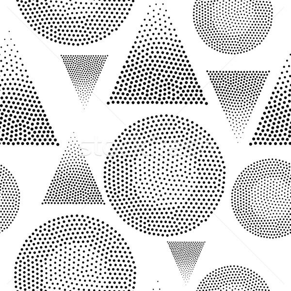Vector geometric seamless pattern Stock photo © Vanzyst