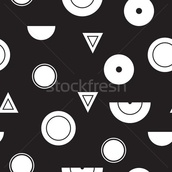 幾何学的な ベクトル ユニバーサル 抽象的な ストックフォト © Vanzyst