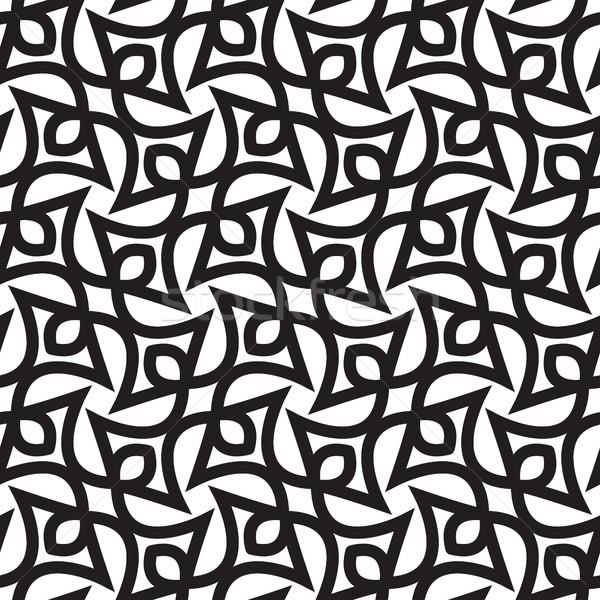 抽象的な 幾何学的な 単純な ベクトル ストックフォト © Vanzyst