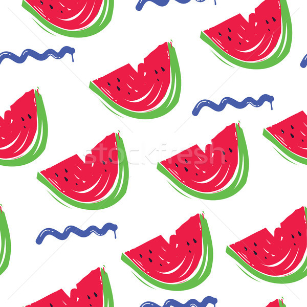 pattern watermelon wave  Stock photo © Vanzyst