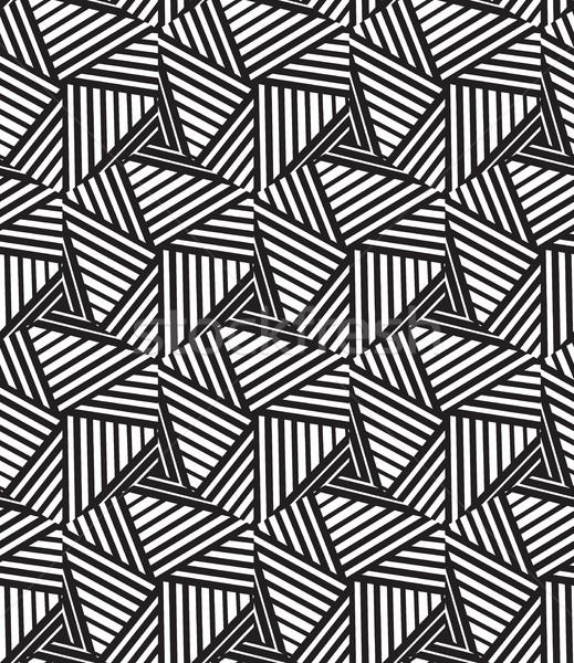 Streszczenie nowoczesne elegancki tekstury geometryczny Zdjęcia stock © Vanzyst
