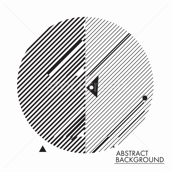 Simple geometric background Stock photo © Vanzyst