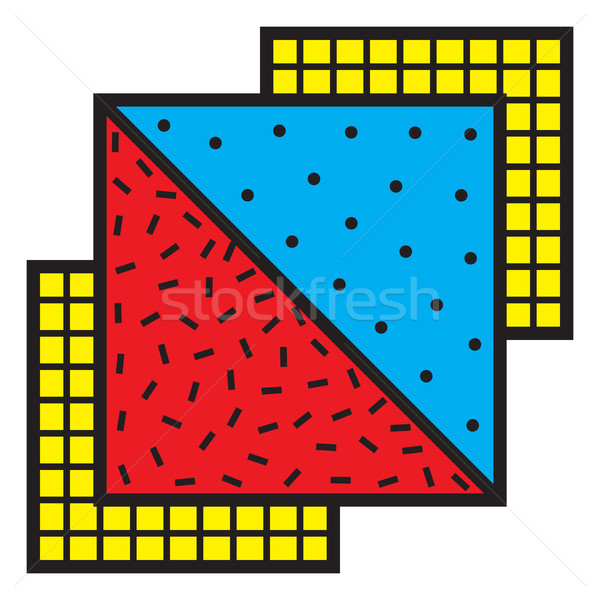 Abstract Patch Stock photo © Vanzyst