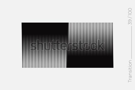 простой геометрический форма аннотация минимальный объект Сток-фото © Vanzyst