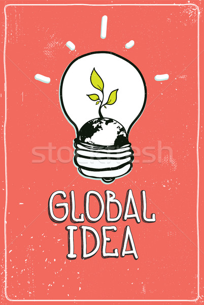 Global idea Stock photo © Vanzyst