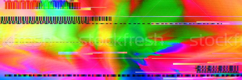 Colorato abstract tendenza immagine effetto stile Foto d'archivio © Vanzyst