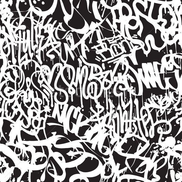 вектора моде граффити стороны Сток-фото © Vanzyst
