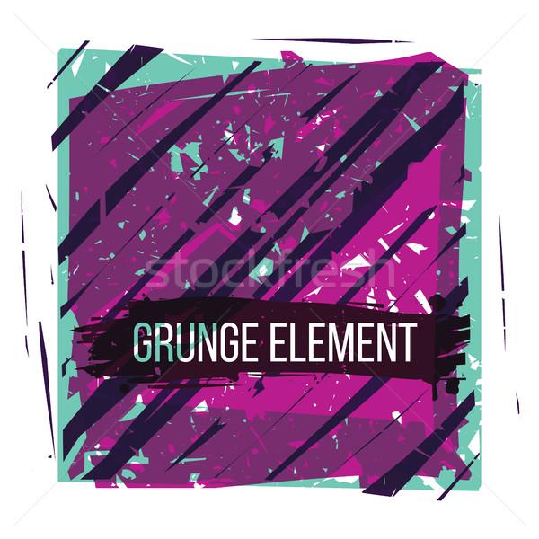 Kleurrijk grunge textuur abstract communie business textuur Stockfoto © Vanzyst