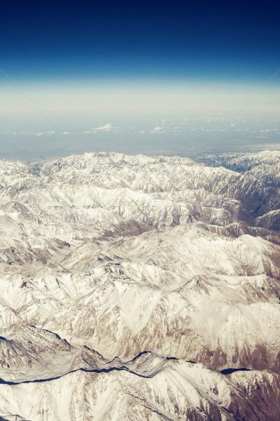 фантастический облака горные гор Панорама Сток-фото © Vanzyst